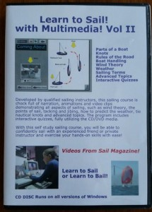Learn to Sail with Multimedia sailing training CD DVD