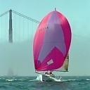 Sailing on San Francisco Bay. Photo by Mariah's Eyes