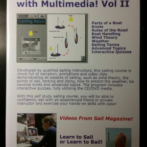 Learn to Sail with Multimedia CD